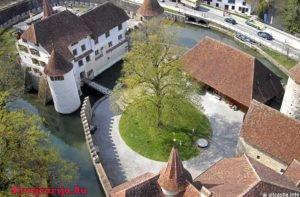 Замок Хальвиль. Schloss Hallwyl