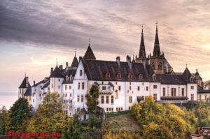 Замок Невшатель. Neuchâtel