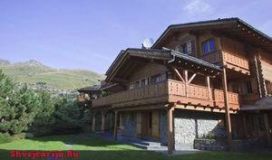 Альпийское шале в Швейцарии