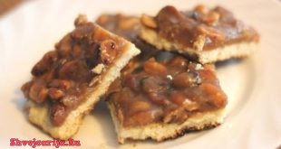 Шоколадное печенье с арахисом