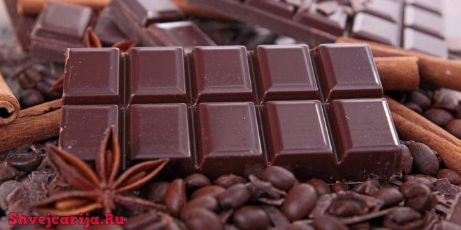 Швейцарский горький шоколад