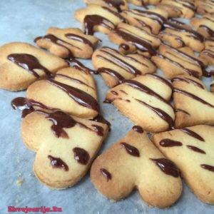 Песочное печенье в шоколаде