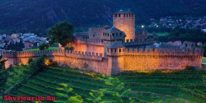 Замок Кастельгранде. Castelgrande