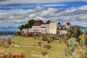 Замок Ленцбург. Schloss Lenzburg
