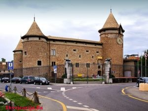 Замок Морж. Château de Morges