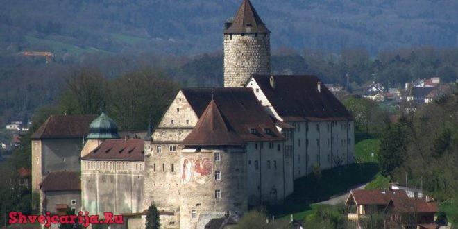 Замок Поррантрюи. Porrentruy