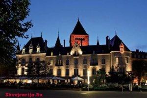 Замок Уши. Château d'Ouchy