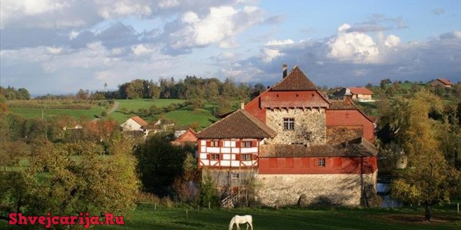 Замок Хагенвиль. Schloss Hagenwil