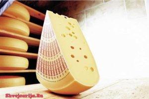 Бренды швейцарских сыров