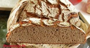 Швейцарский ржаной хлеб на дрожжах Roggenmischbrot