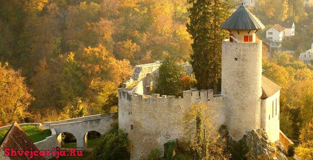 Крепость Бирсек. Burg Birseck