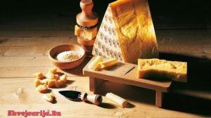 Швейцарский сыр Сбринц. Sbrinz