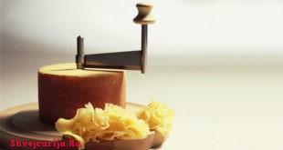 Сыр Тет-де Муан. Tete de Moine