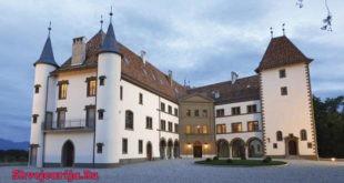 Замок Алламан. Chateau d'Allaman