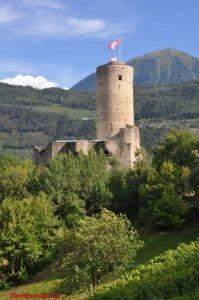 Замок Батиаз. Château de la Bâtiaz