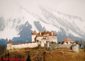 Замок Грюйер. Château de Gruyères