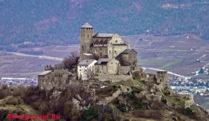 Замок Валер. Château de Valère