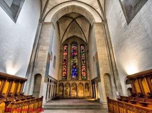 Собор Гроссмюнстер в Цюрихе