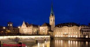 Церковь Фраумюнстер в Цюрихе