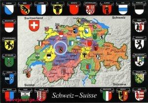 Гербы кантонов Швейцарии