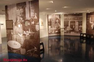 Музей кофе. Цюрих. Coffee culture Johan Jacobs Museum