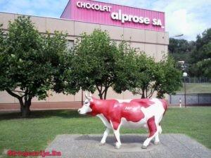 """Музей шоколада """"Альпийская роза"""" (Alprose Chocolate Museum)"""