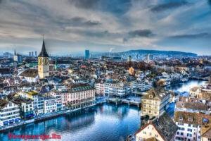 Цюрих - история и современность