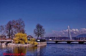 Остров Руссо в Женеве. Пешеходная экскурсия по Женеве