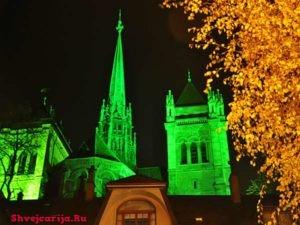 Женевский собор Святого Петра. Пешеходная экскурсия